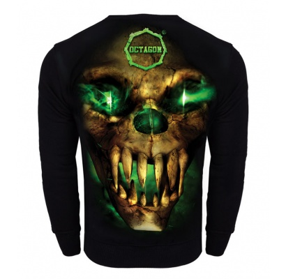 Bluza Octagon Green Demon bez kaptura