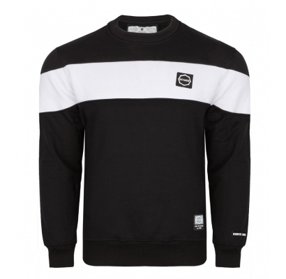 Bluza Octagon Small Logo black/white bez kaptura