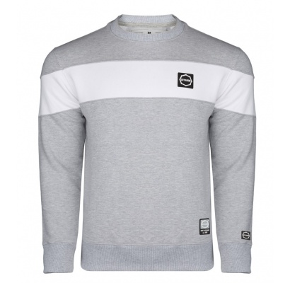 Bluza Octagon Small Logo grey/white bez kaptura