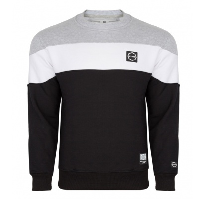 Bluza Octagon Small Logo grey/white/black bez kaptura