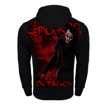 Bluza Octagon Why so serious? z kapturem