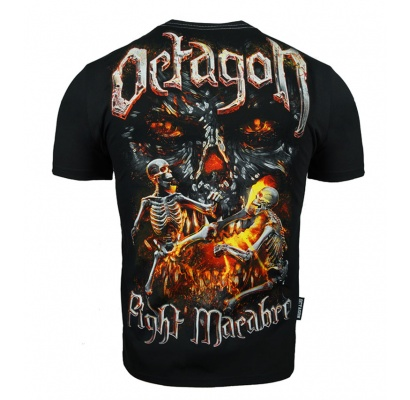 T-shirt Octagon Fight Macabre