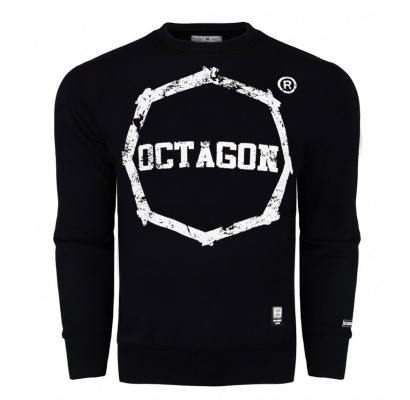 Bluza Octagon Logo Smash black bez kaptura