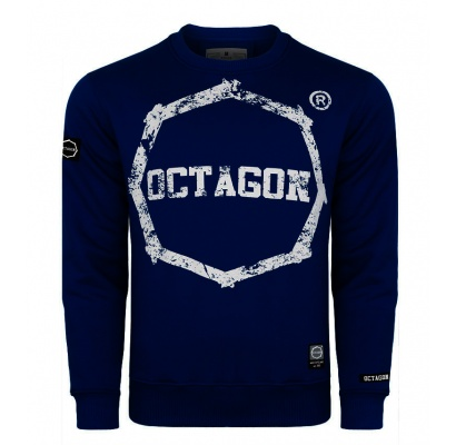Bluza Octagon Logo Smash dark navy bez kaptura