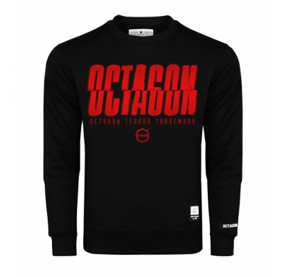 Bluza Octagon (T)Error black bez kaptura