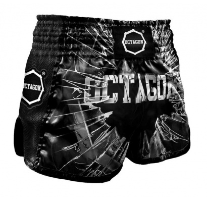 Spodenki Muay Thai  Octagon Crushed