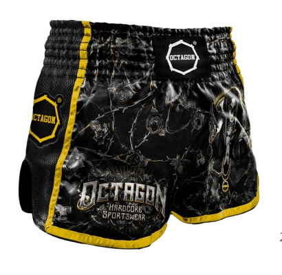 Spodenki Muay Thai Octagon Pray For Death