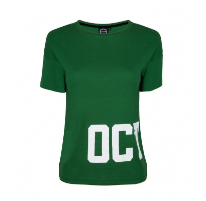 T-shirt damski Octagon Dream green