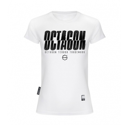 T-shirt damski Octagon (T)Error white