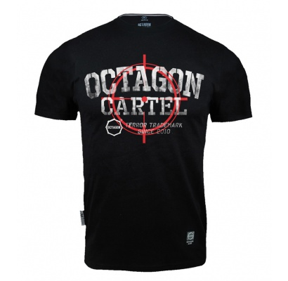 T-shirt Octagon Cartel black