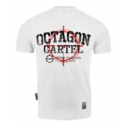 T-shirt Octagon Cartel white
