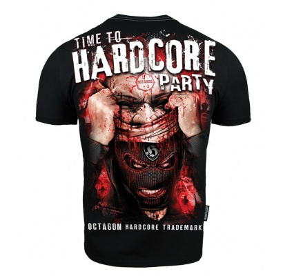T-shirt Octagon Time to Hardcore Party