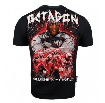 T-shirt Octagon Welcome to my World 2