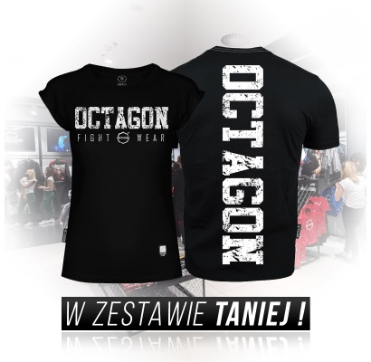 Zestaw T-shirtów Fight Wear Octagon black